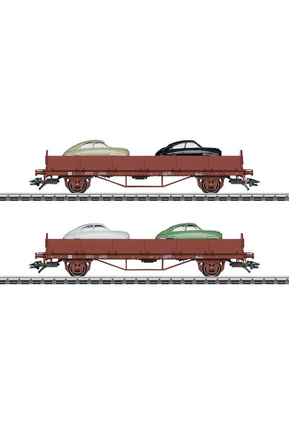 45084 Autotransportwagen-Set Saab 9