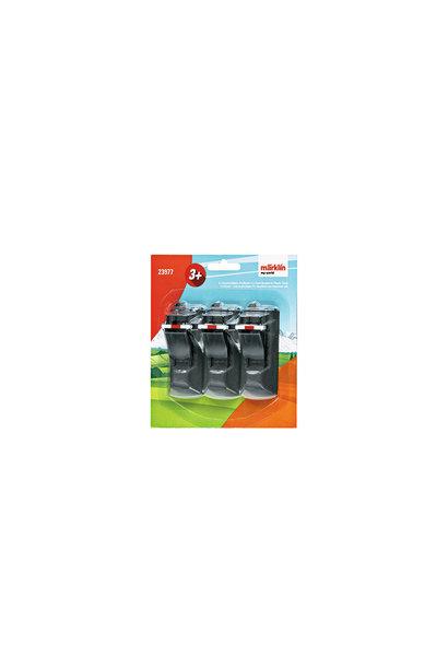 23977 Kunststoffgleis-Prellbock(Inh