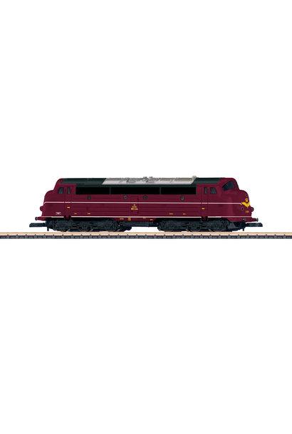 88637 Diesellocomotief serie MV van de DSB