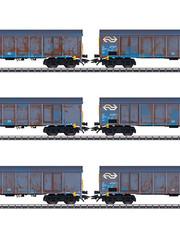Märklin 47189 Hochbordwagen-Set Ealnos NL