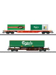"Märklin 47109 Set KLV-goederenwagens ""Carlsberg en Tuborg"""