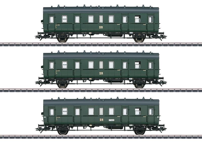46395 Personenwagen-set van de DR/DDR-1