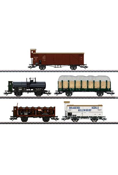 45175 Güterwagen-Set K.W.St.E.