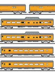 Märklin 43617 Personenwagen-Set, 6 Wagen, U