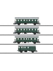 Märklin 43146 Wagen-Set zur BR 74 m.Steuerw