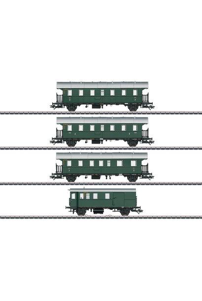 43146 Wagen-Set zur BR 74 m.Steuerw