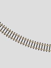 Märklin 8510 Gleis geb. r195 mm, 45 Gr.
