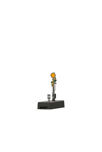 70382 Form-Vorsignal m.grauem Mast