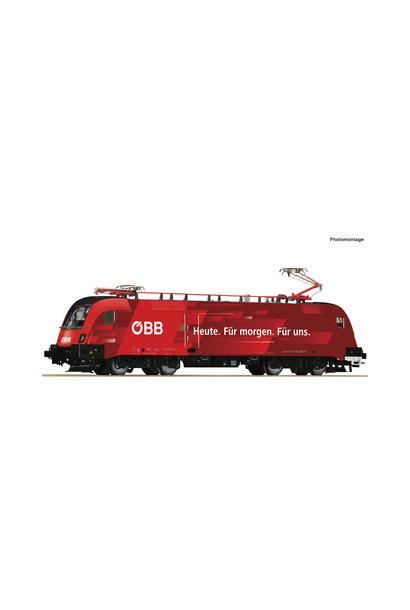 79267 E-Lok Rh 1116 Railjet/Dachmark AC-S