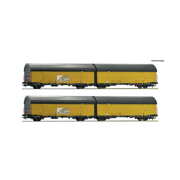 Roco 76408 2er Set Autotransportwag.