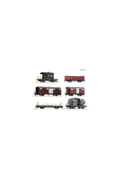 76051 goederenwagenset Gotthard SBB