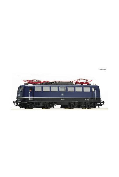 73075 E-Lok BR 110.1 DB blau Snd.