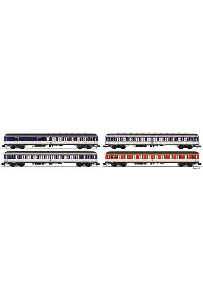 881908 4-tlg. Set: DC Zug bestehend a