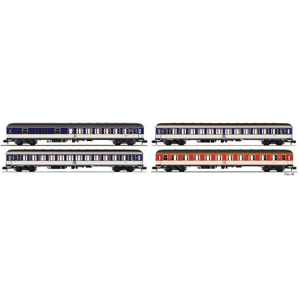 Fleischmann 881908 4-tlg. Set: DC Zug bestehend a