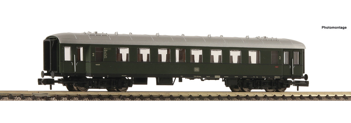 867506 Eilzugwag. 2. Kl. DB-1