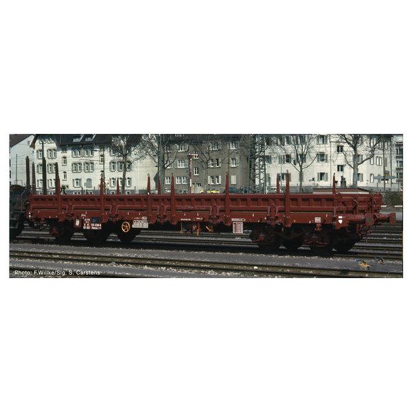 Fleischmann 826703 4-achs.Flachwagen. braun