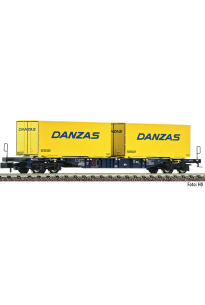 825210 Containertragwagen Sgns. blau