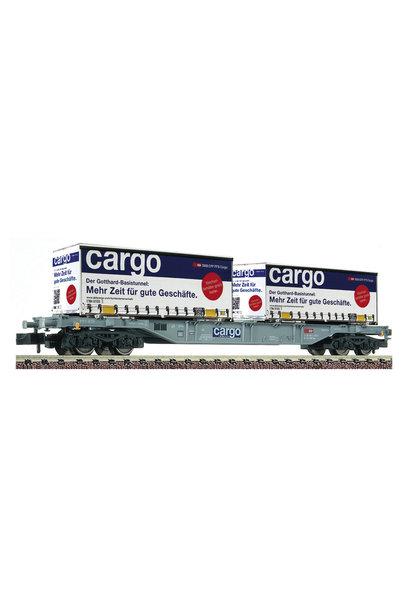 825209 Containertragwagen Sgns + 2x W