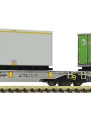 Fleischmann 825006 Doppeltaschen-Gelenkwagen T200