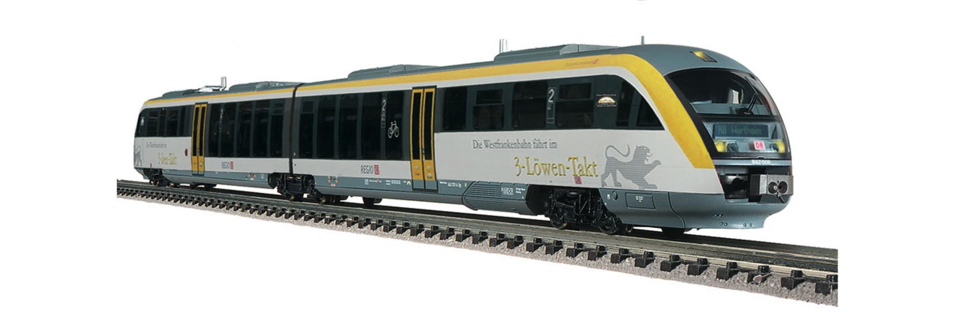 742098 Dieseltw. Desiro 3 Löwentakt S