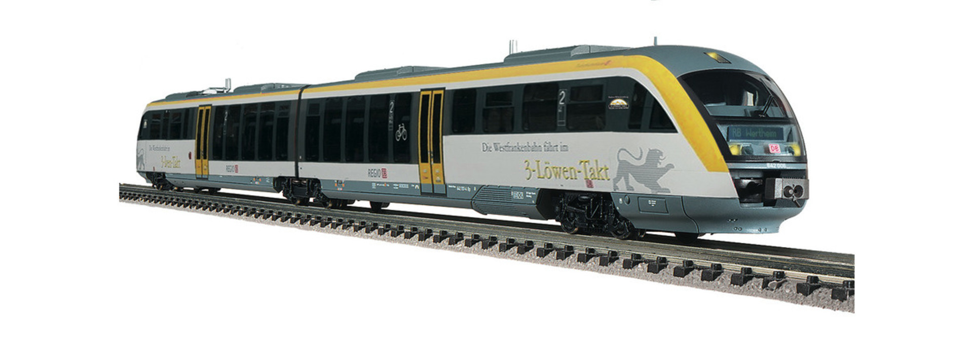 742008 Dieseltrieb.Desiro 3-Löwentakt