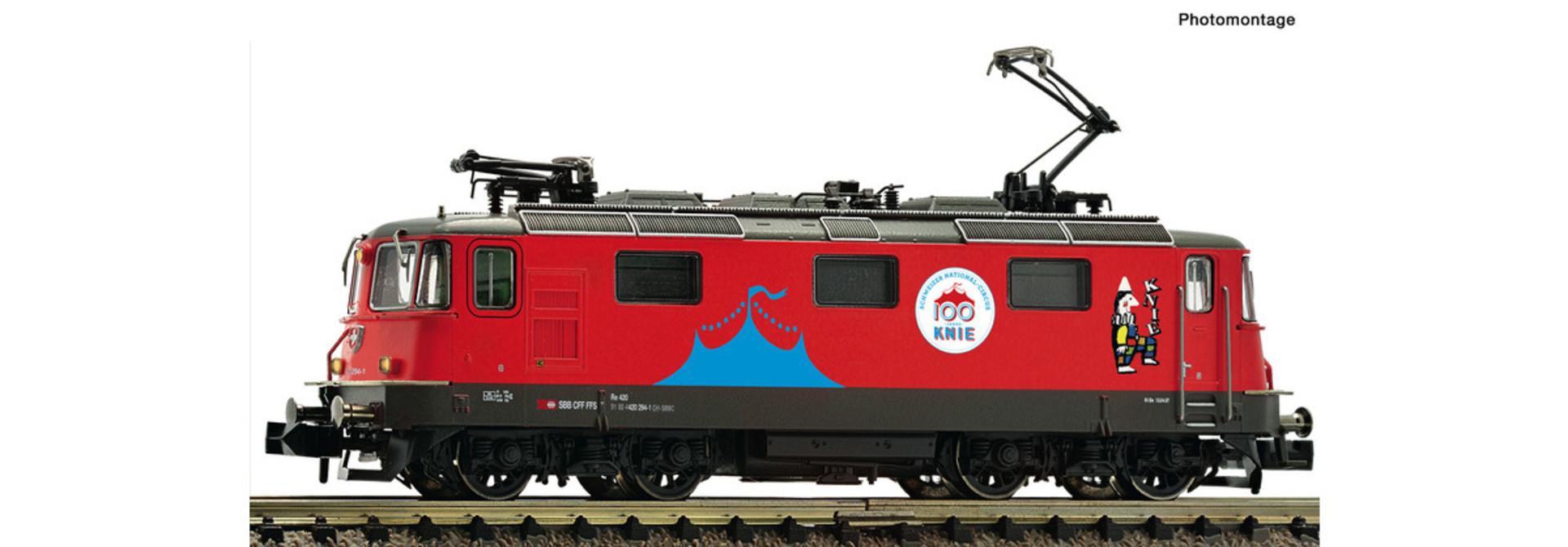 734014 E-Lok 420 294 SBB Knie