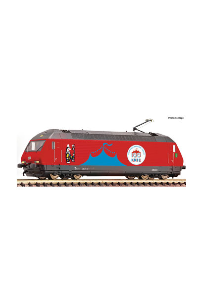 731571 E-Lok Re460 Zirk.Knie Snd.