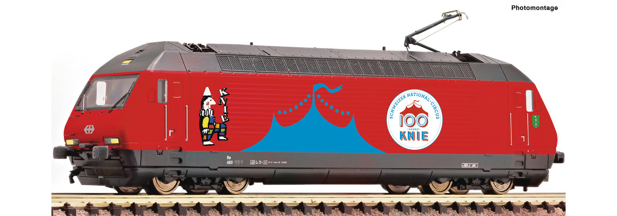 731571 E-Lok Re460 Zirk.Knie Snd.-1