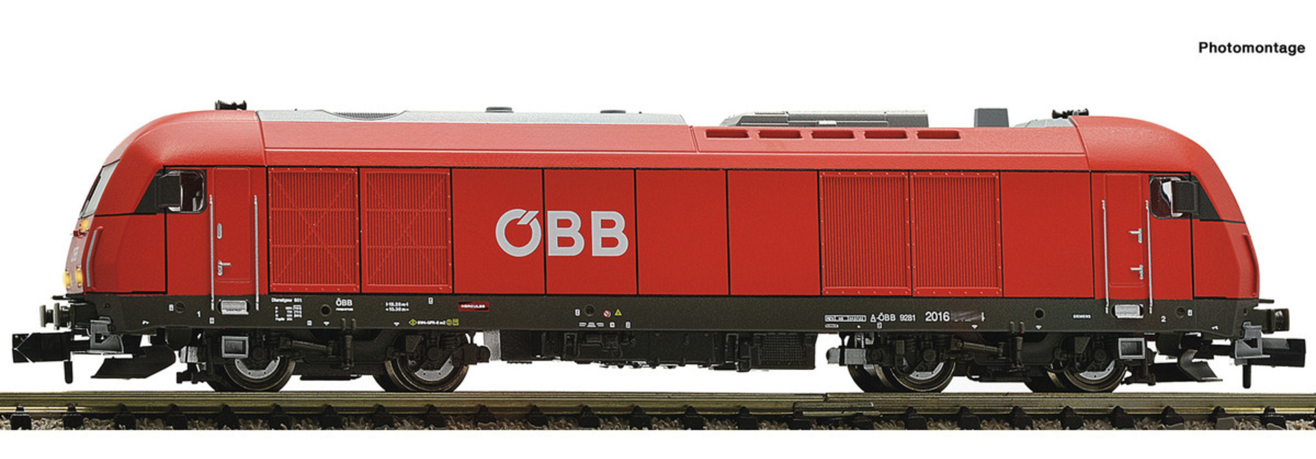 726019 Diesellok Rh 2016 ÖBB