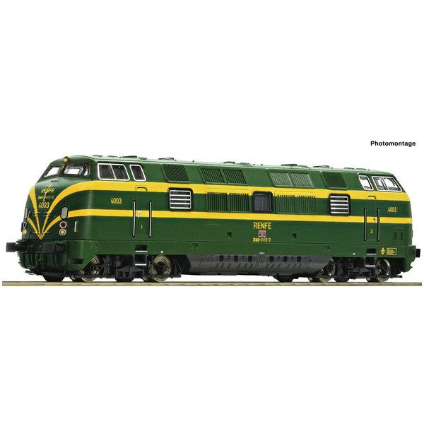 Fleischmann 725080 Diesellok D.340 gr/ge SND