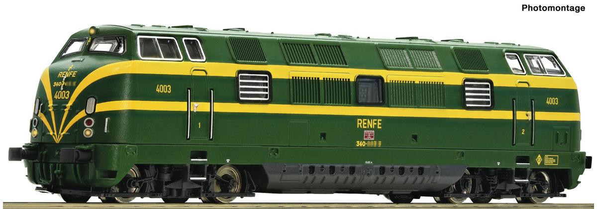 725080 Diesellok D.340 gr/ge SND-1