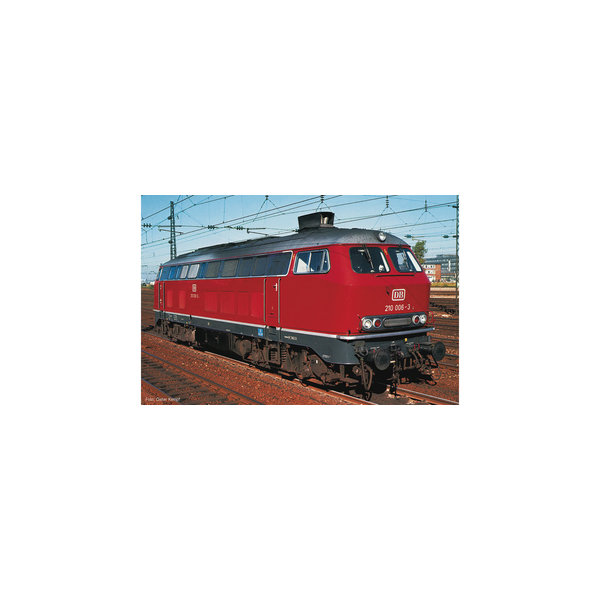 Fleischmann 724290 Diesellok BR 210 SND. rot