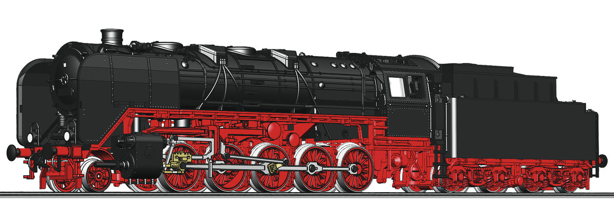 714473 Dampflok BR 44. DRG HE SND.-1