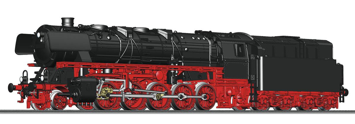 714404 Dampflok BR 043. DB ÖL-1
