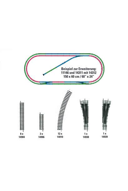 14312 Gleis-Ergänzungspackung H2