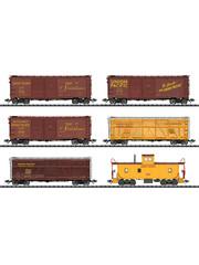Trix 24914 Güterwagen-Set, 6 Wagen, U.P.