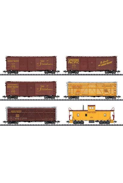 24914 Güterwagen-Set, 6 Wagen, U.P.