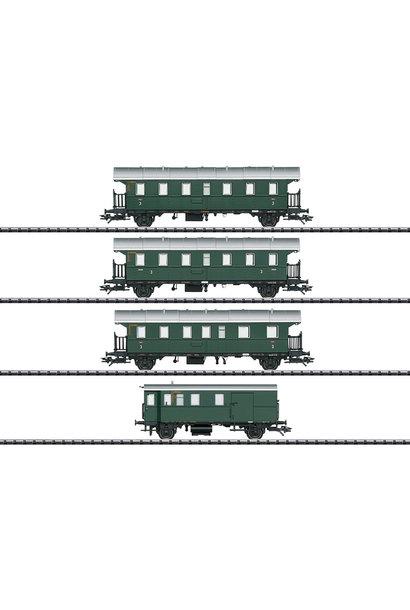 23456 Wagen-Set zur BR 74 m.Steuerw