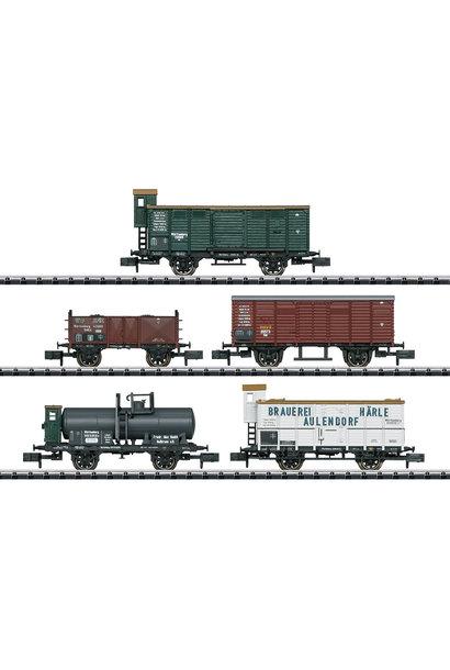 15534 Güterwagen-Set 175 Jahre K.W.
