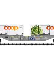 Trix 15470 Containertragwagen Lebensmitt