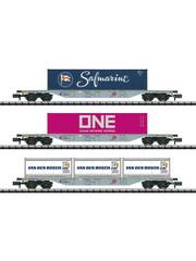 Trix 15228 Güterwagen-Set Containerverke