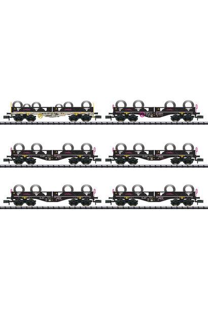 15080 Güterwagen-Set Coiltransport