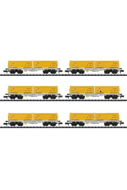 15075 Güterwagen-Set Abraumzug
