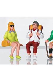 LGB 53007 Figurenset Touristen sitzend