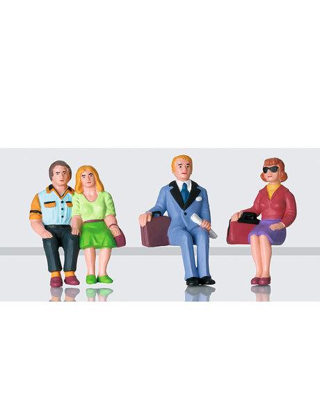 LGB 53006 Figurenset Reisende sitzend