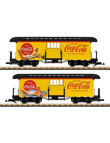 LGB 36847 Gepäckwagen Coca Cola