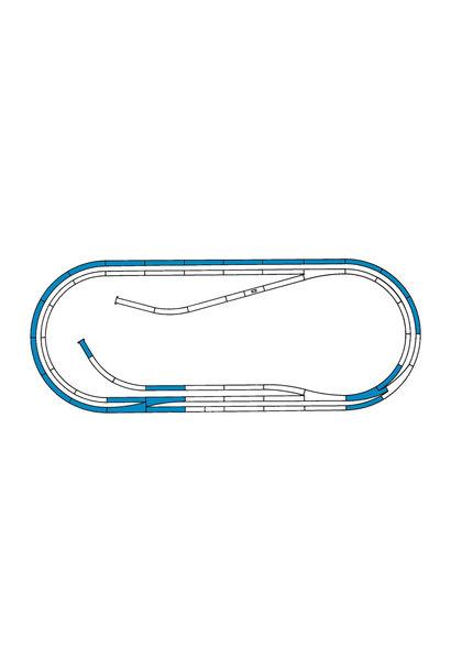 42012 Gleisset D ROCO-LINE m.Bett.