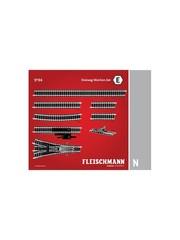 Fleischmann 9194 DREIWEGWEICHEN SET E