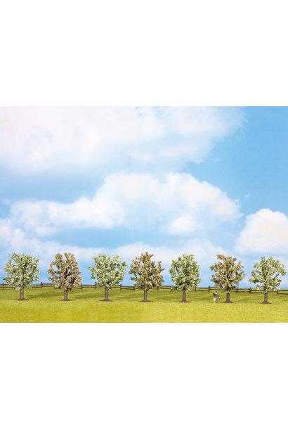 25092 fruitbomen bloeiend 7 stuks