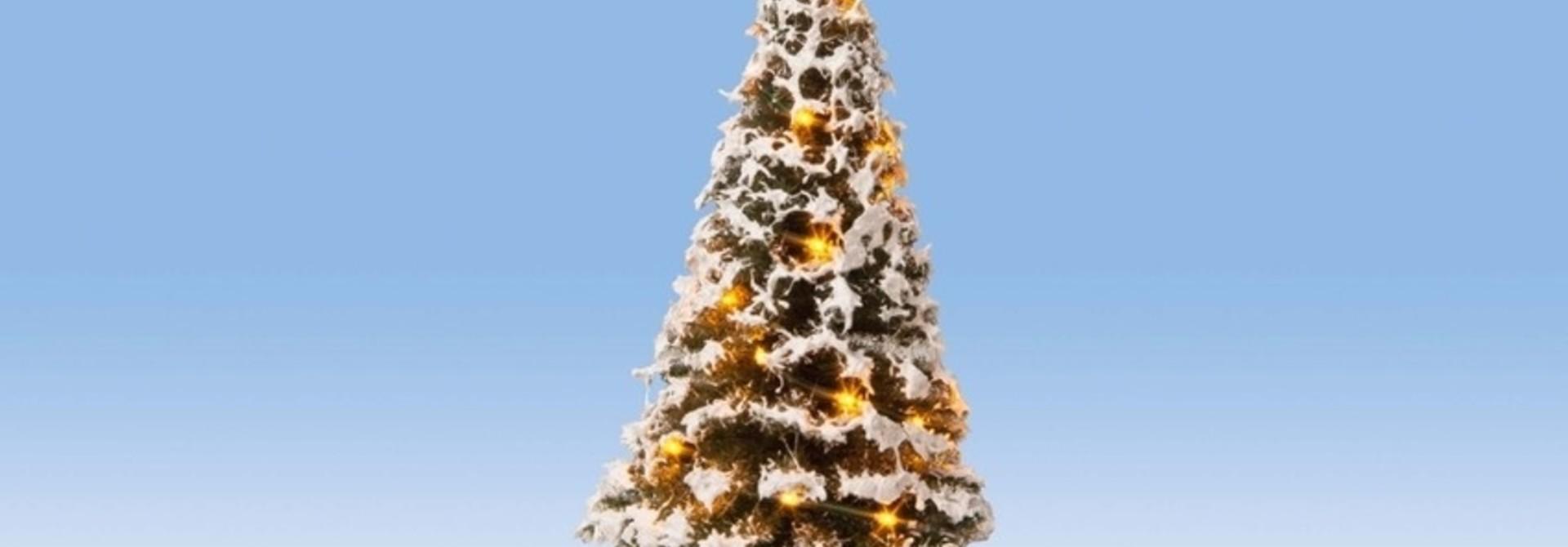 22120 Beleuchteter Weihnachtsbaum